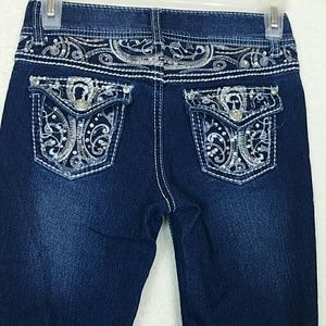 Girls Arizona skinny jeans size 12 like new